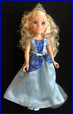 18 PRINCESS & ME Doll Lot (6) Disney/Jakks 2010 AURORA RAPUNZEL BELLE ARIEL +
