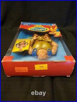 1996 Disney GOLDEN GLOW HERCULES Mattel Action Figure Hero Barbie Ken Doll NRFB