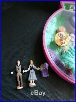 1996 Vintage disney sleeping beauty polly pocket complete aurora princess rare