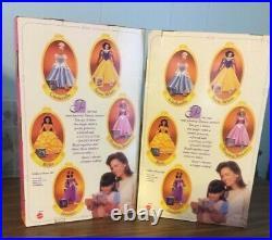 1997 Walt Disney Mattel Princess Stories Collection Complete Set Of 5 Barbie