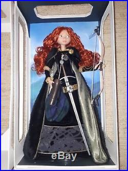 1 in 7,000 Disney Store Limited Edition 18 Princess Merida Doll Collectible