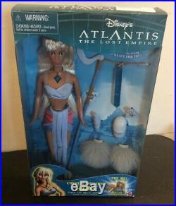 2000 Princess Kida Atlantis The Lost Empire Disney Crystal Princess Barbie Doll