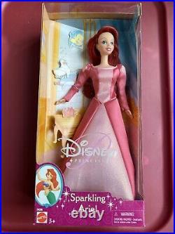 2001 Mattel Disney The Little Mermaid SPARKLING ARIEL 11.5 Doll NRFB VERY RARE
