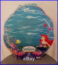 2006 Disney Store Little Mermaid Princess Ariel Special Edition Doll Figure New