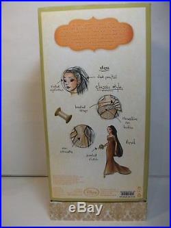 2011 Disney Princess Designer Dolls Limited Edition Pocahontas