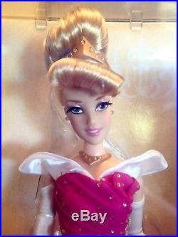 2011 Disney Store Designer Collection Princess Aurora Sleeping Beauty Doll LE