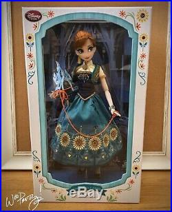 2015 LIMITED EDITION Frozen Fever Princess Anna 17 Doll LE 5000 NIB NWT