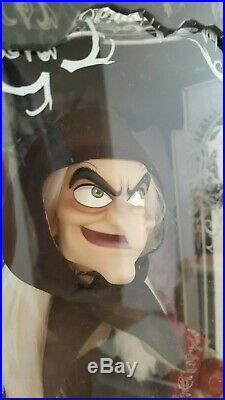 2017 D23 WITCH Limited Edition doll by Disney Store princess Snow White
