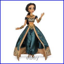 2 LE Disney 17 Dolls Princess Jasmine & Aladdin Limited Edition New In Box