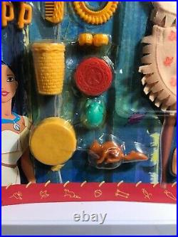 2 Pocahontas Wilderness Dress N Play Doll Outfit Accessories Disney Feather New