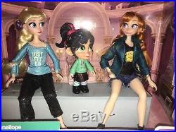 ANNA, ELSA & VANELLOPE MINI DOLL SETRalph Breaks the InternetDisney HTF LE