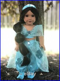 American Girl Doll Custom Jasmine Disney Princess