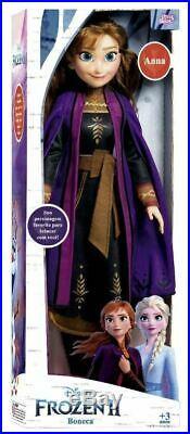 Anna or Elsa Frozen 2 Doll 20,8 Disney Princess Original Exclusive Baby Brink