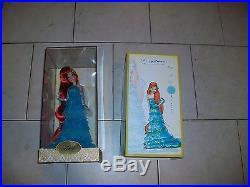 Ariel Disney Designer Princess & Ursula Villains Designer Dolls