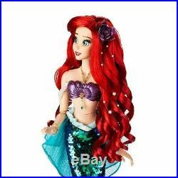 Ariel Little Mermaid Disney Store Limited Edition Doll 5500 Vanessa 17 Princess