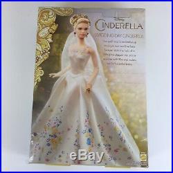 Barbie Disney CINDERELLA WEDDING DAY PRINCESS 2014 CGT55