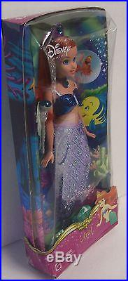 Barbie Disney Princess 6 Dolls Ariel Belle Cinderella Sleeping Snow Tiana NEW