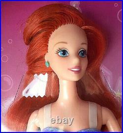 Barbie Disney Store Colletor Princess Ariel Doll a. Meerjungfrau Sammlung NRFB