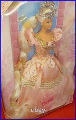 Barbie Doll Rare 1997 Rapunzel Princess Collector Edition 1990s New Damaged Box