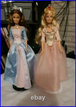 Barbie Princess and the Pauper Erika Annelise Doll Disney Monster Ken Prince Bra