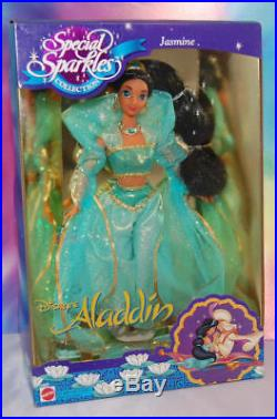 Barbiedisneyjasminesparklespuppe/princess/1994/vintagejasmin-aladdin