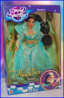 Barbiedisneyjasminesparklespuppe/princess/1994/vintagejasmin-aladdin-ovp