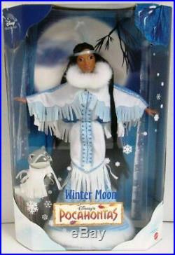 Barbiedisneypocahontaswinter Moonprincess/signature Collectionovp
