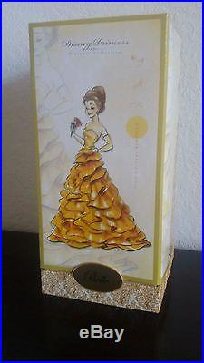 Belle DISNEY Princess Designer Collection Doll #7992 of 8000 New in Box