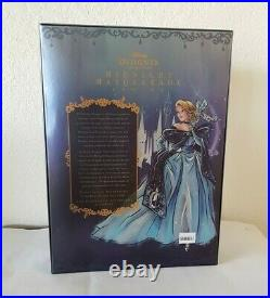 CINDERELLA Disney Princess Midnight MASQUERADE Designer Doll Limited Edition NEW