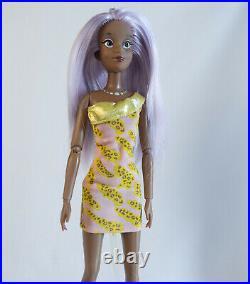 CUSTOM JEM DOLL LOT Disney Princesses as Kimber Aja Shana Holograms OOAK Reroot