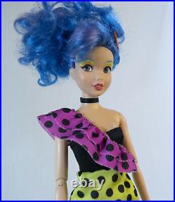 CUSTOM MISFITS LOT Disney Princesses as Pizzazz Roxy Stormer Eric OOAK Jem Doll
