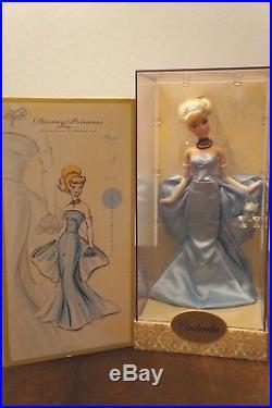 Cinderella Designer Disney Store Princess Doll LE #3112/8000 Limited Edition