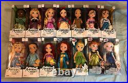 Collection 14 Disney Store Animator 16 Toddler Dolls Princess 1st Editions Pets