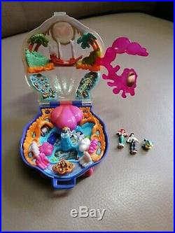 Complete Disney Little Mermaid Polly Pocket bluebird ariel figure toy princess