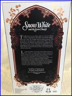 D23 Expo 2017 Disney Princess Snow White 17 Doll LE 1023 D23S3