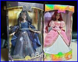 D23 Expo 2019 Disney 30th Anniversary Lmtd edtn Ariel Vanessa Doll 17 LE 1000