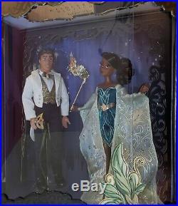 D23 Expo 2019 Masquerade Designer Dolls Princess and the Frog Tiana Naveen LE900