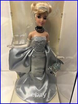 D23 Expo Disney Store 2011 Princess Designer CINDERELLA Doll LE 250 S/N 018