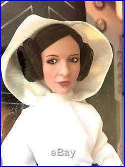 D23 Expo Star Wars Princess Leia Doll Figure LE450 Carrie Fisher Disney NIB NEW