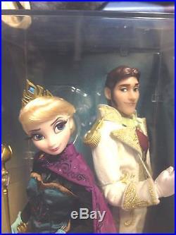 D23 Frozen Coronation Elsa Hans Disney Fairytale Designer Princess Villain Doll