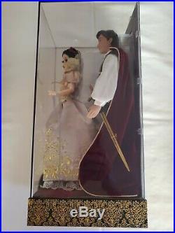 D23 Limited Edition Disney Fairytale Designer Princess Doll Snow White & Prince