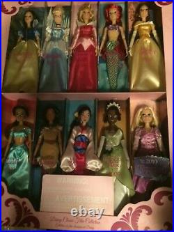 DISNEY Classic Film Collection- 10 Princess Dolls (NEW UNOPENED) 2010 Tangled