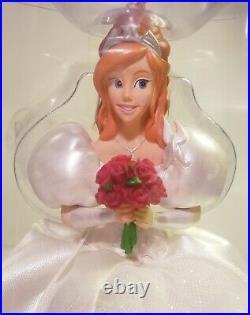 DISNEY ENCHANTED GISELLE wedding bride figurine ornament/treetopper RARE