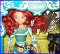 DISNEY Merida Brave Deluxe Talking Doll 11'' NIB
