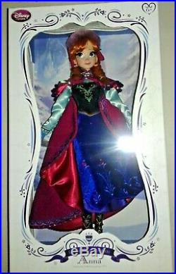 DISNEY STORE ANNA (sis Elsa) princess SNOW GEAR Limited Edition of 5000 17 DOLL