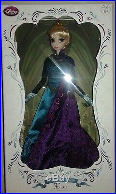 DISNEY STORE ELSA CORONATION princess Limited Edition of 5000 17 DOLL FROZEN