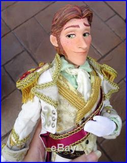 DISNEY STORE FROZEN Prince HANS CORONATION LE 17 18 CUSTOM REPLICA DOLL OOAK