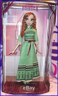DISNEY STORE Frozen 2 PRINCESS ANNA NIGHTGOWN 17 Limited Edition DOLL OOAK LE