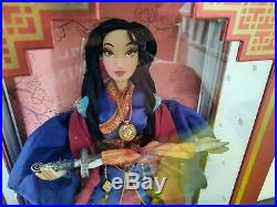 DISNEY STORE LIMITED EDITION LE 5500 Doll Princess MULAN Disney 17