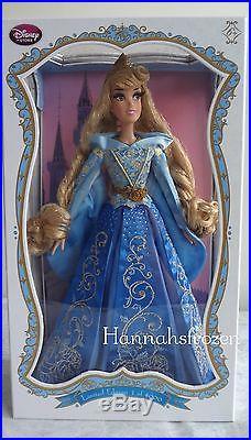 DISNEY STORE Limited Edition Sleeping Beauty Aurora 17 Doll BLUE Auora Dress LE